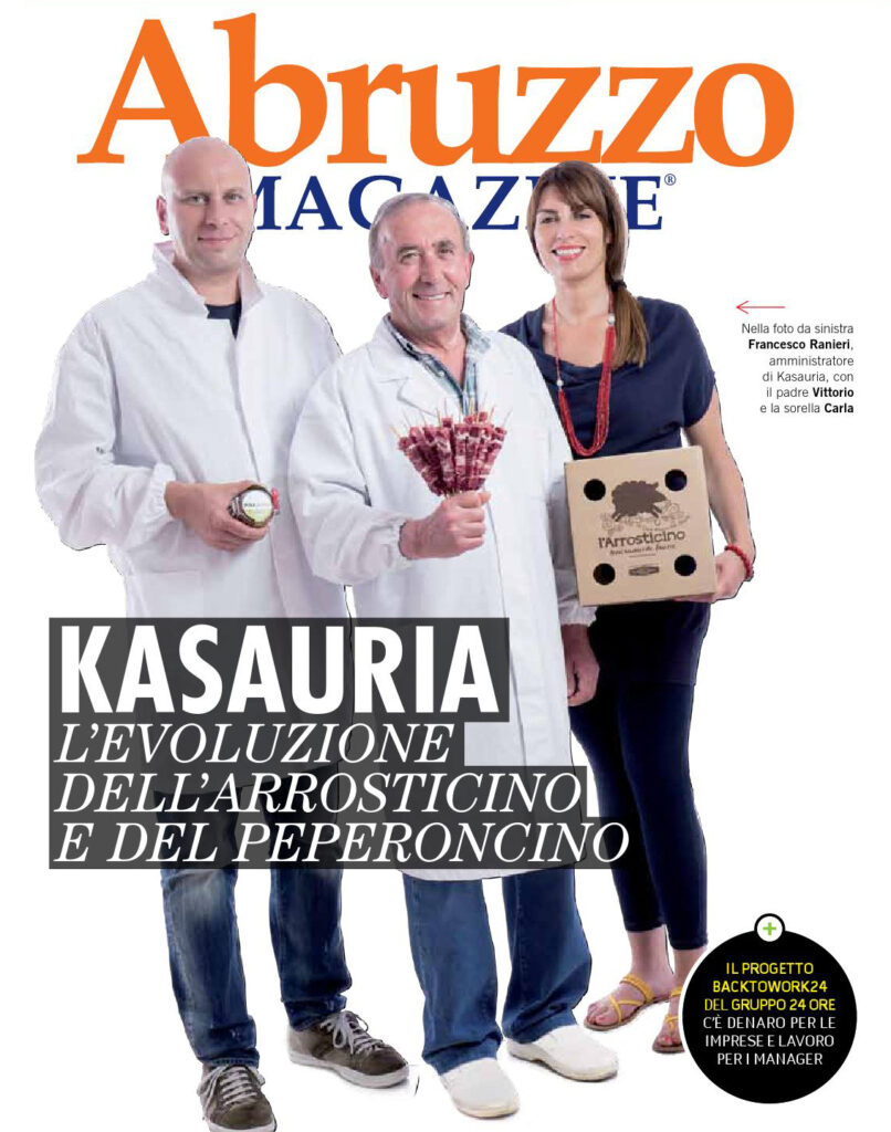 copertina Abruzzo Magazine anno 2012